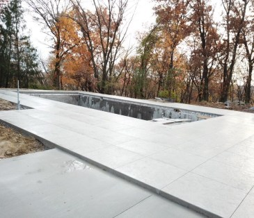 elegant backyard pool specialty concrete