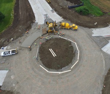 roundabout commercial project