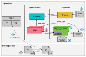 Hawkular  Monitoring Microservices on OpenShift with HOSA