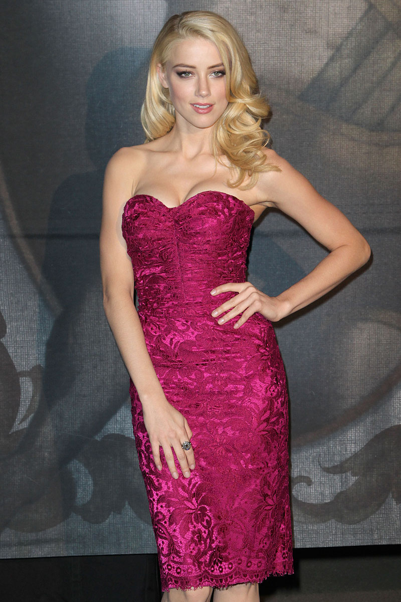 Amber Heard As Jessica Rabbit At Spike Tv Scream Awards