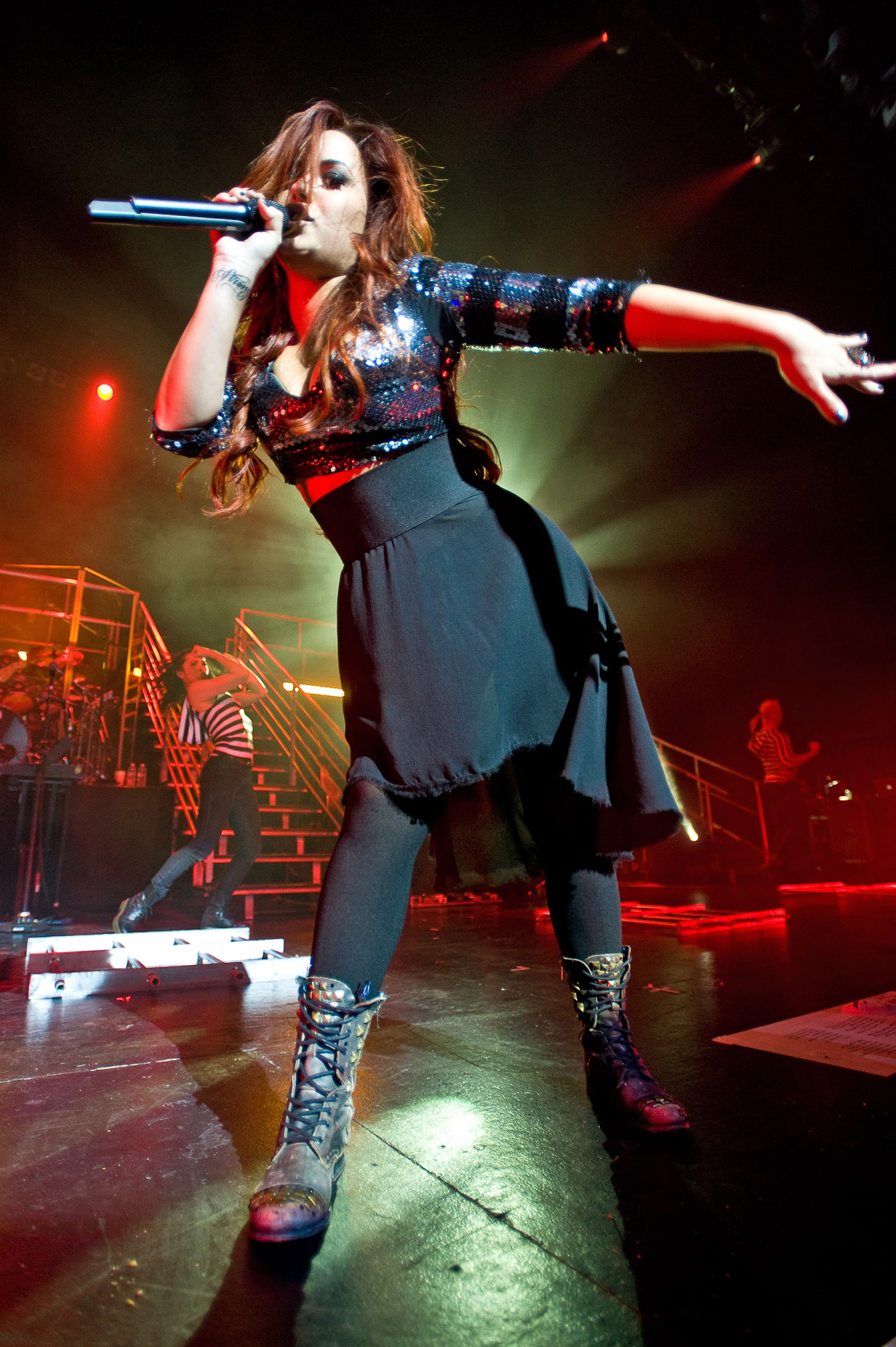 Demi Lovato Performs At The Rosemont Theatre In Chicago