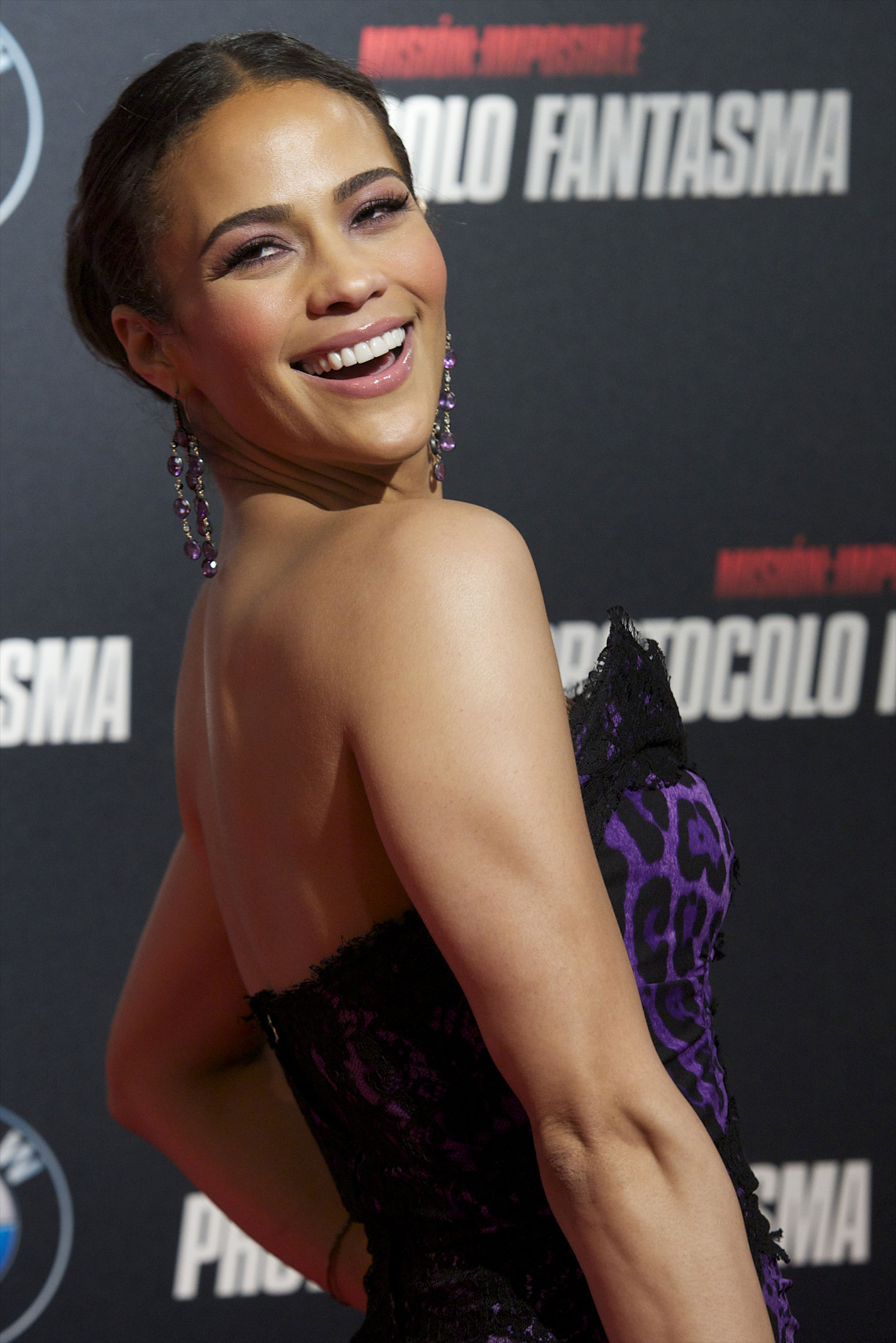 Paula Patton At Mission Impossible Ghost Protocol