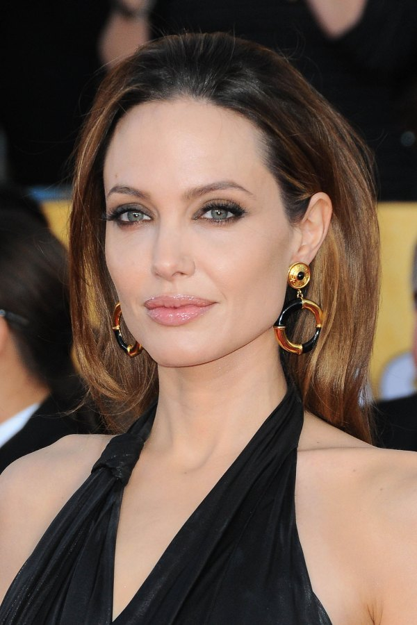 Angelina Jolie at 18th Annual Screen Actors Guild Awards ...