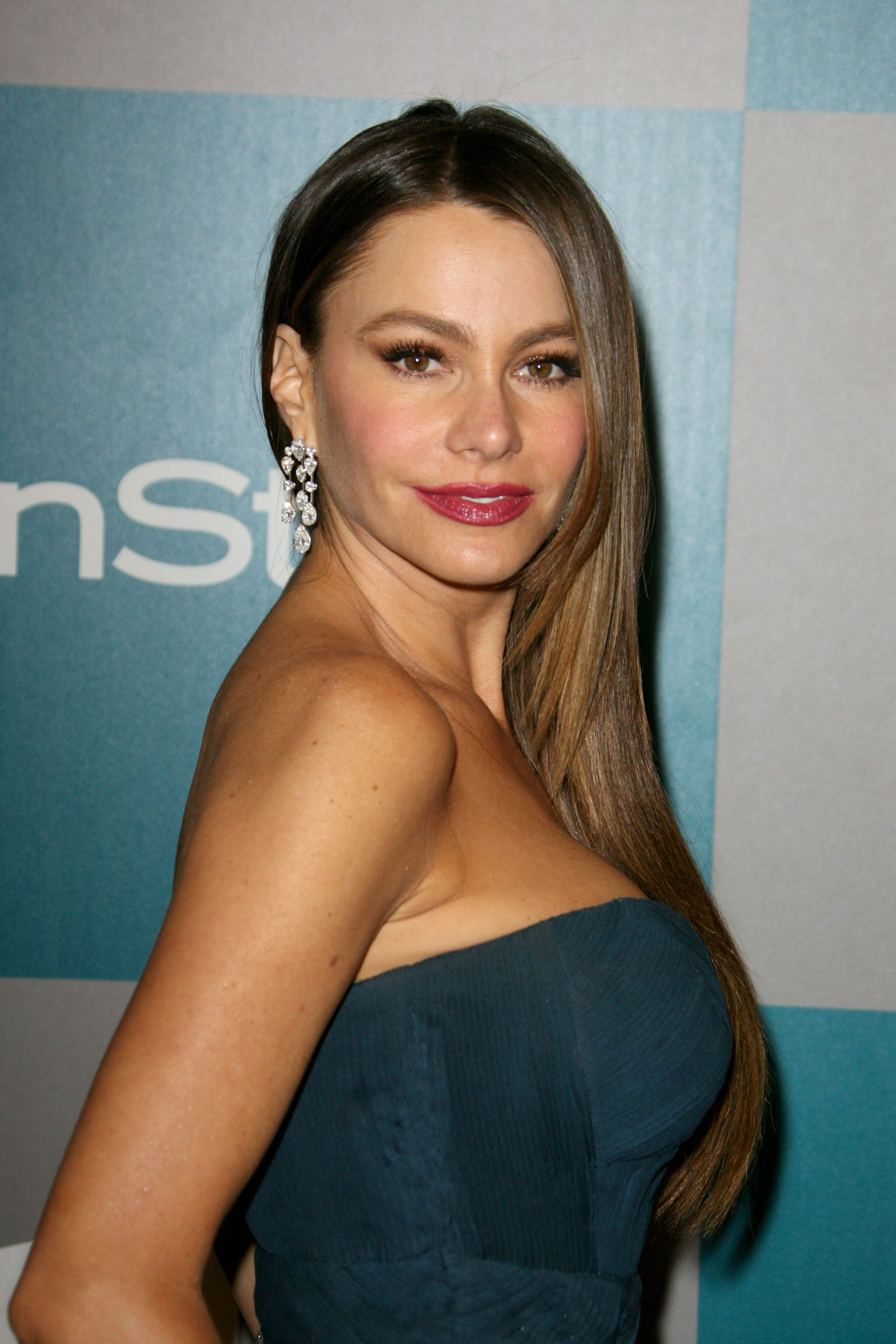 Sofia Vergara At Warner Bros And InStyle Golden Globe After Party HawtCelebs
