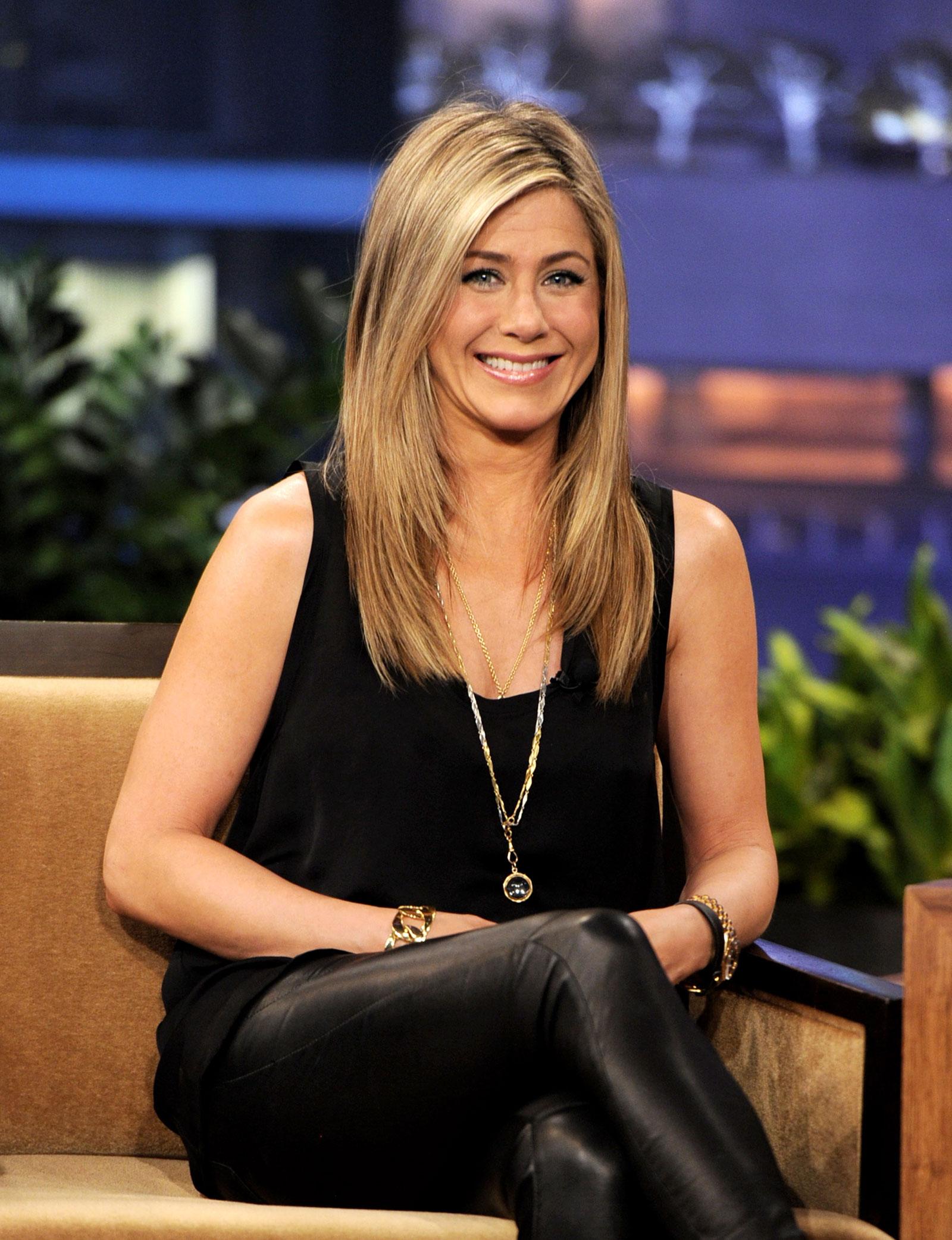 Jennifer Aniston At The Tonight Show With Jay Leno