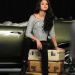 Demi Lovato SELENA GOMEZ at Dream Out Loud Fall Photoshoot - HawtCelebs