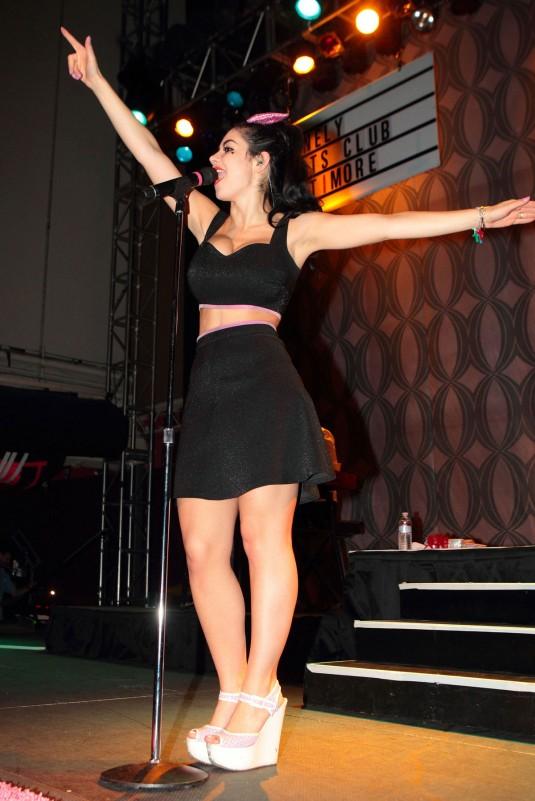 MARINA DIAMANDIS Performs At The Rams Head In Baltimore