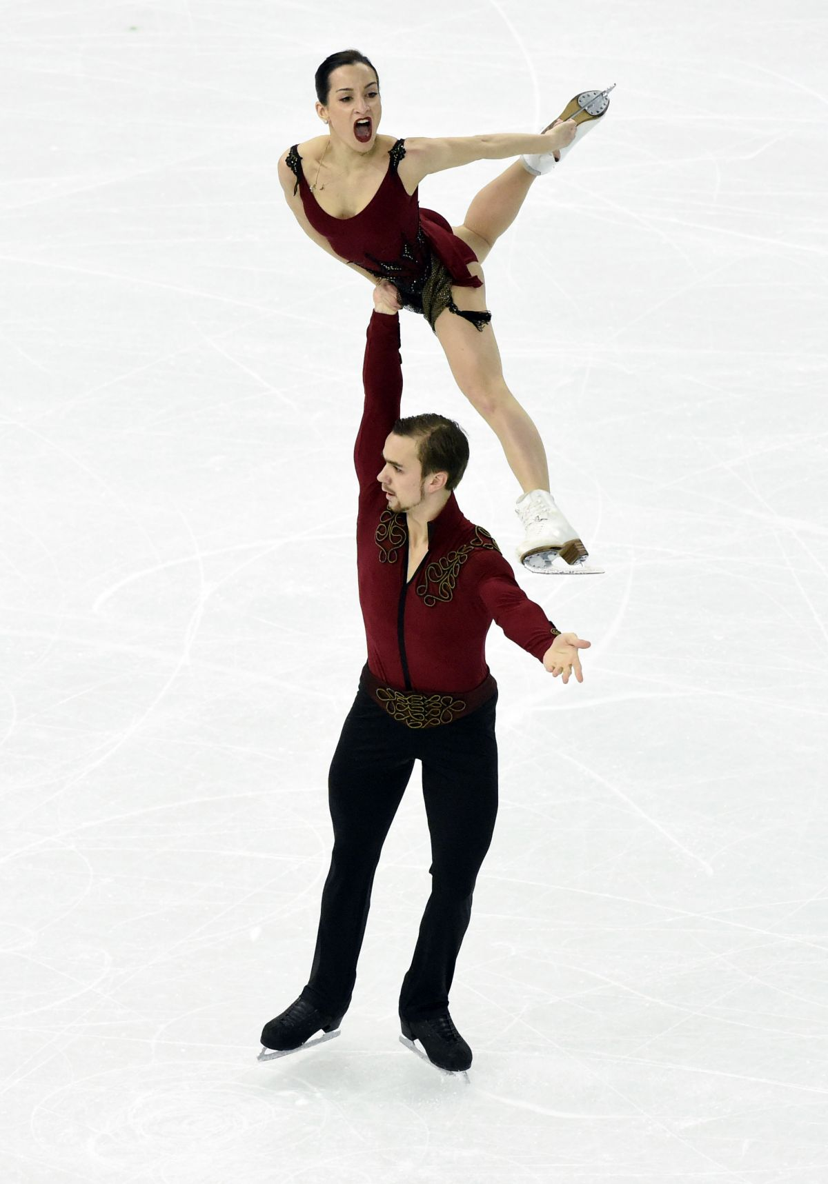 Ksenia Stolbova And Fedor Klimov At Winter Olympics In Sochi