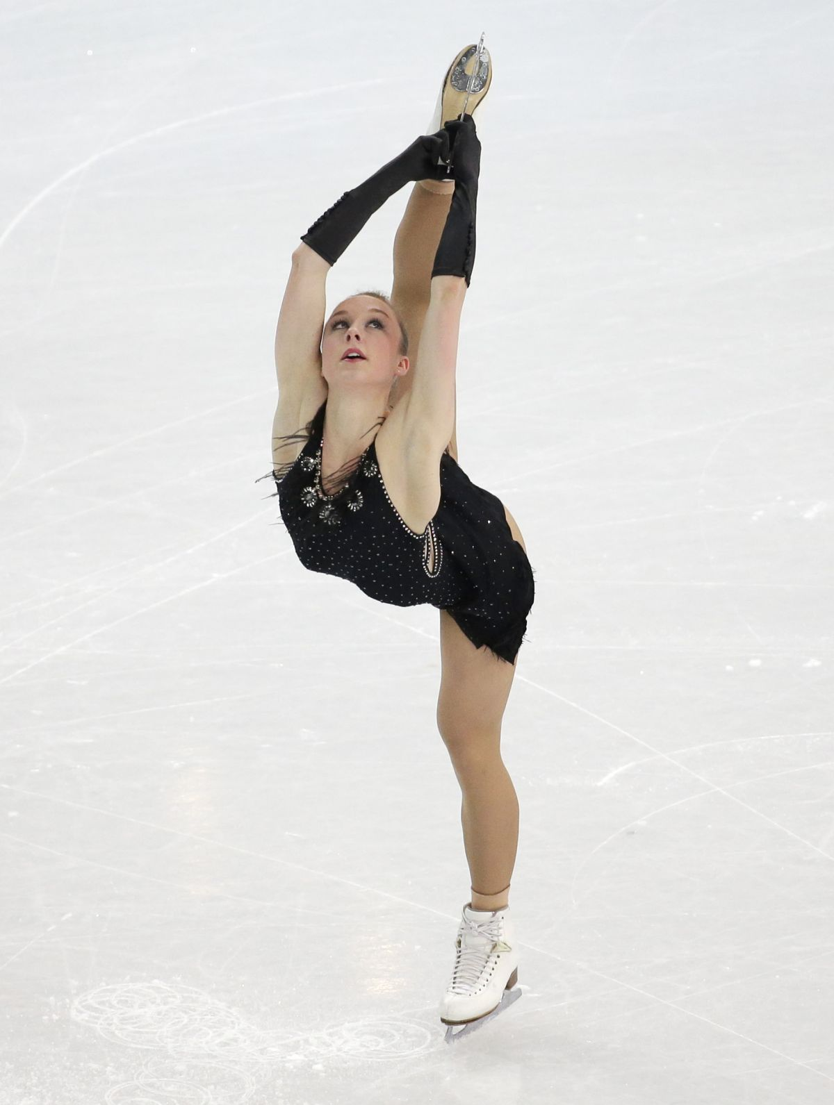 Nathalie Weinzierl At Winter Olympics In Sochi