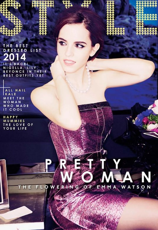 EMMA WATSON in Sunday Times Style Magazine, March 2014 Issue