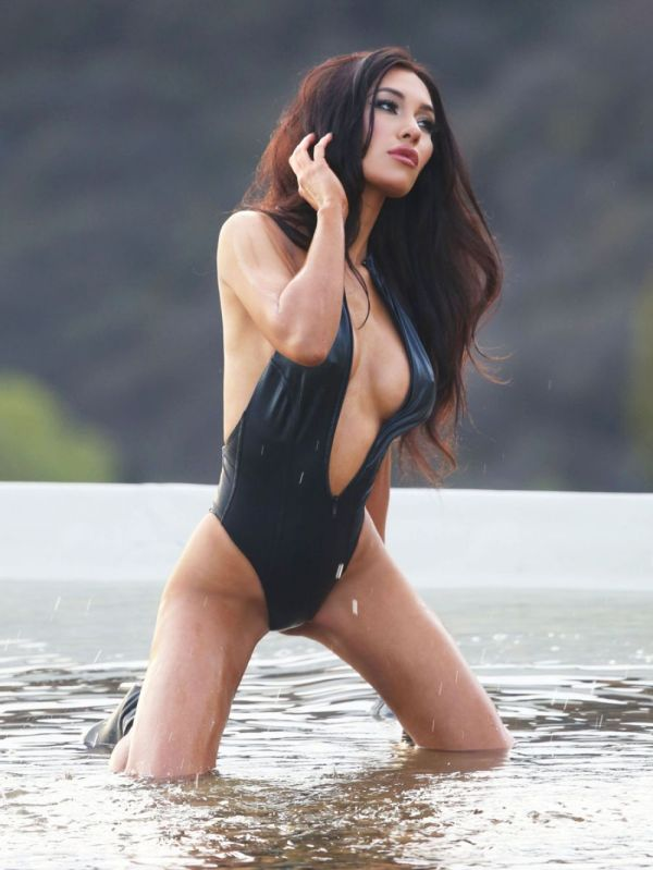 KEA HO in Bikini at 138 Water Photoshoot in Malibu ...