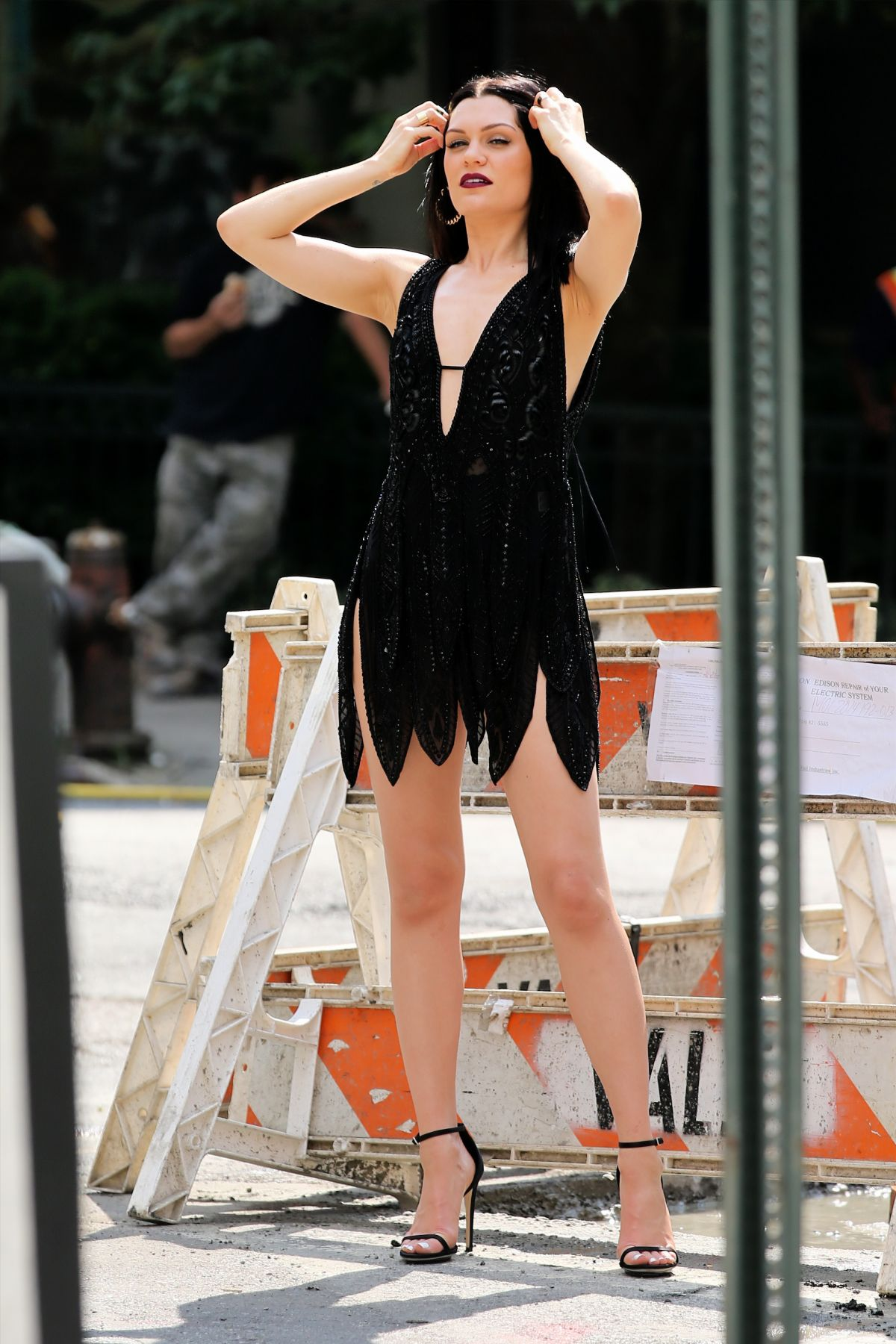 JESSIE J At A Photoshoot In New York HawtCelebs