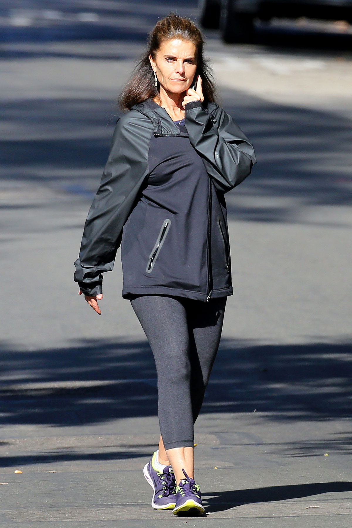 MARIA SHRIVER Out To Power Walk HawtCelebs