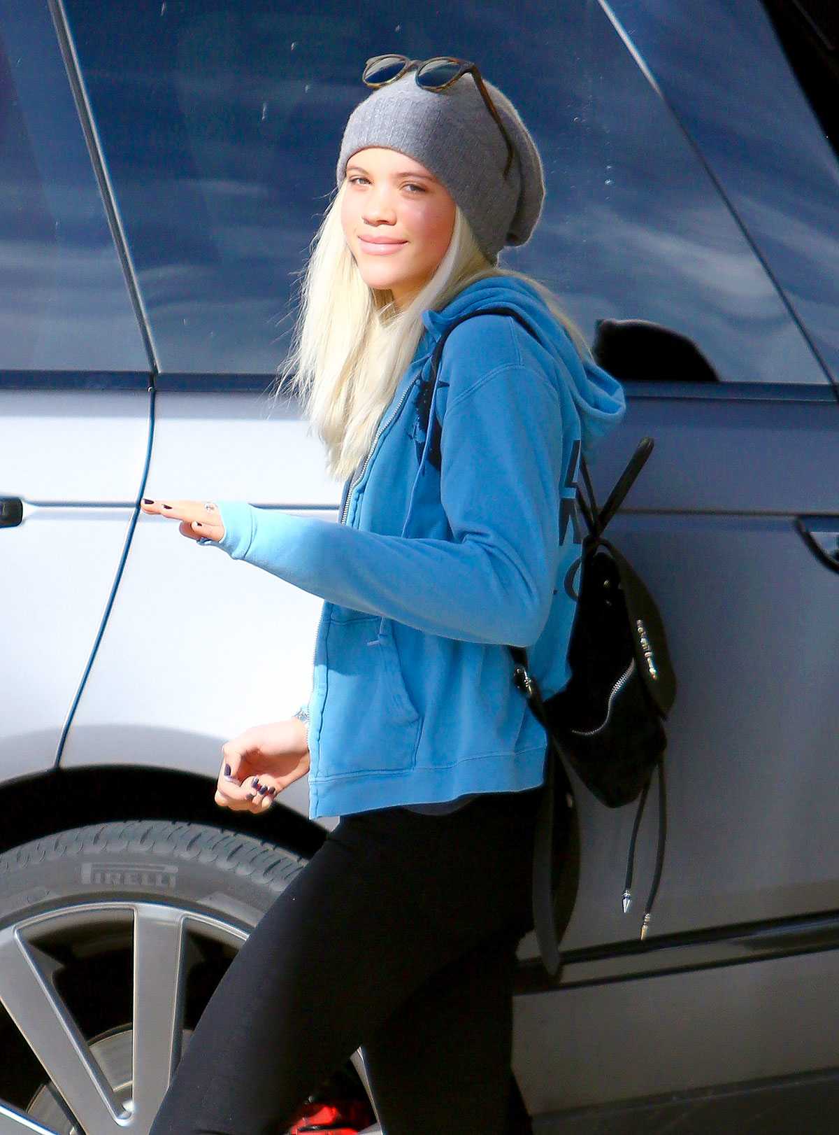 SOFIA RICHIE Out For Shopping In Los Angeles HawtCelebs