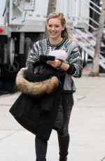HILARY DUFF on the Younger Set in New York 1112