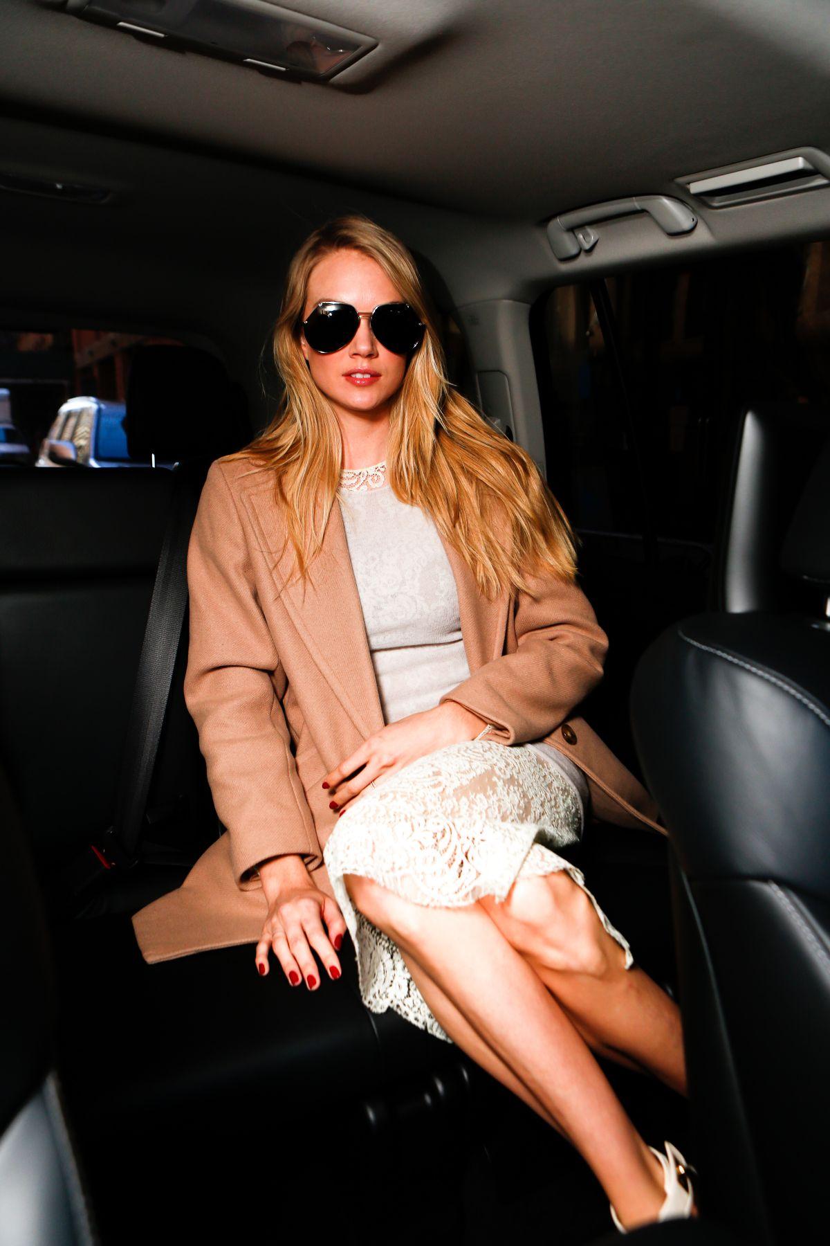 LINDSAY ELINGSON at Made Fashion Week Presents Lexus Street Style