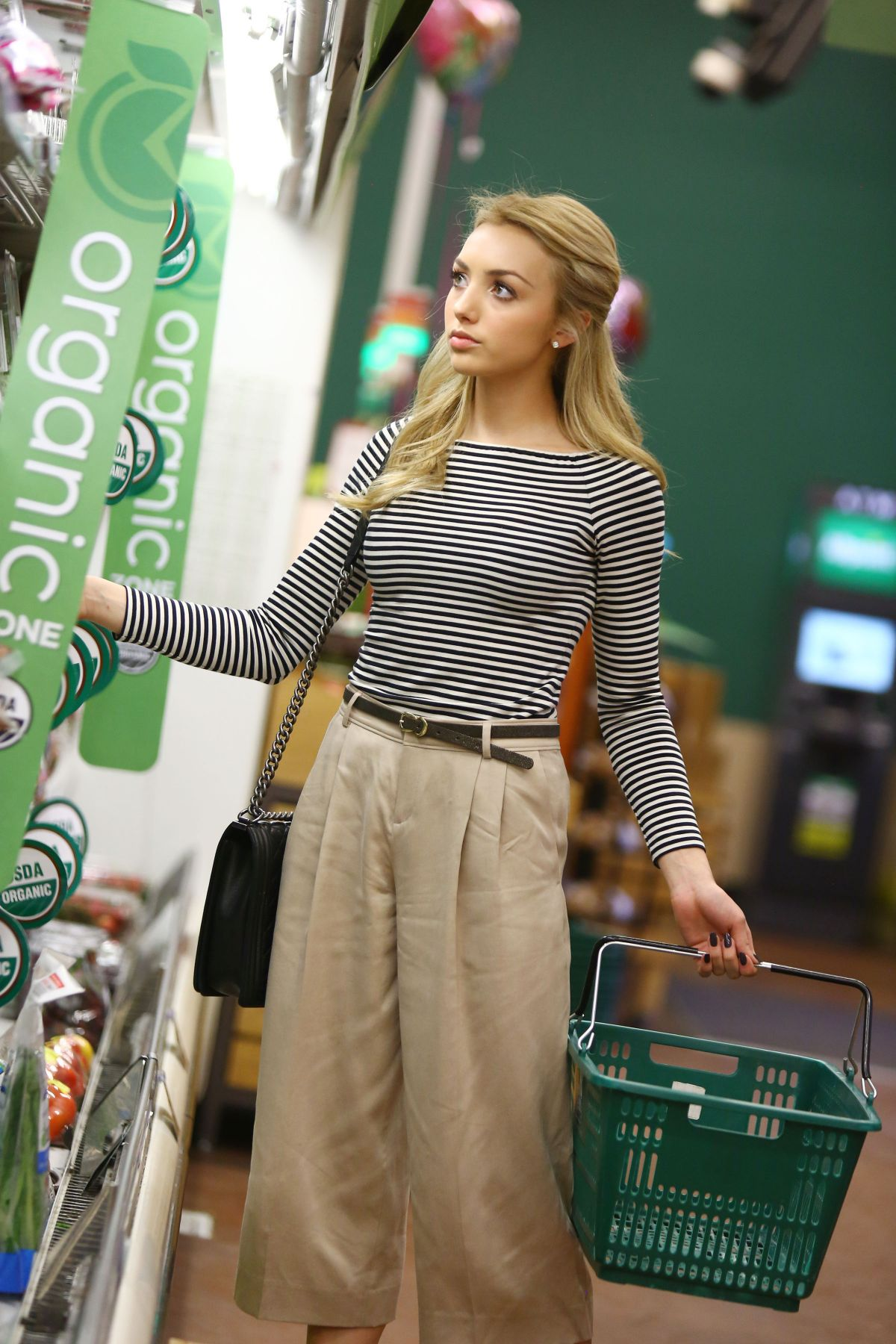 PEYTON LIST Out For Grocery Shopping HawtCelebs