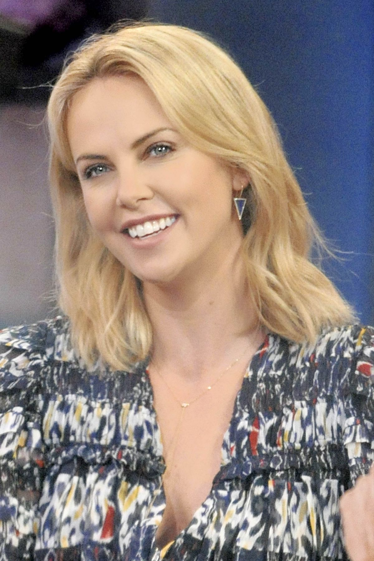 CHARLIZE THERON At Good Morning America In New York HawtCelebs
