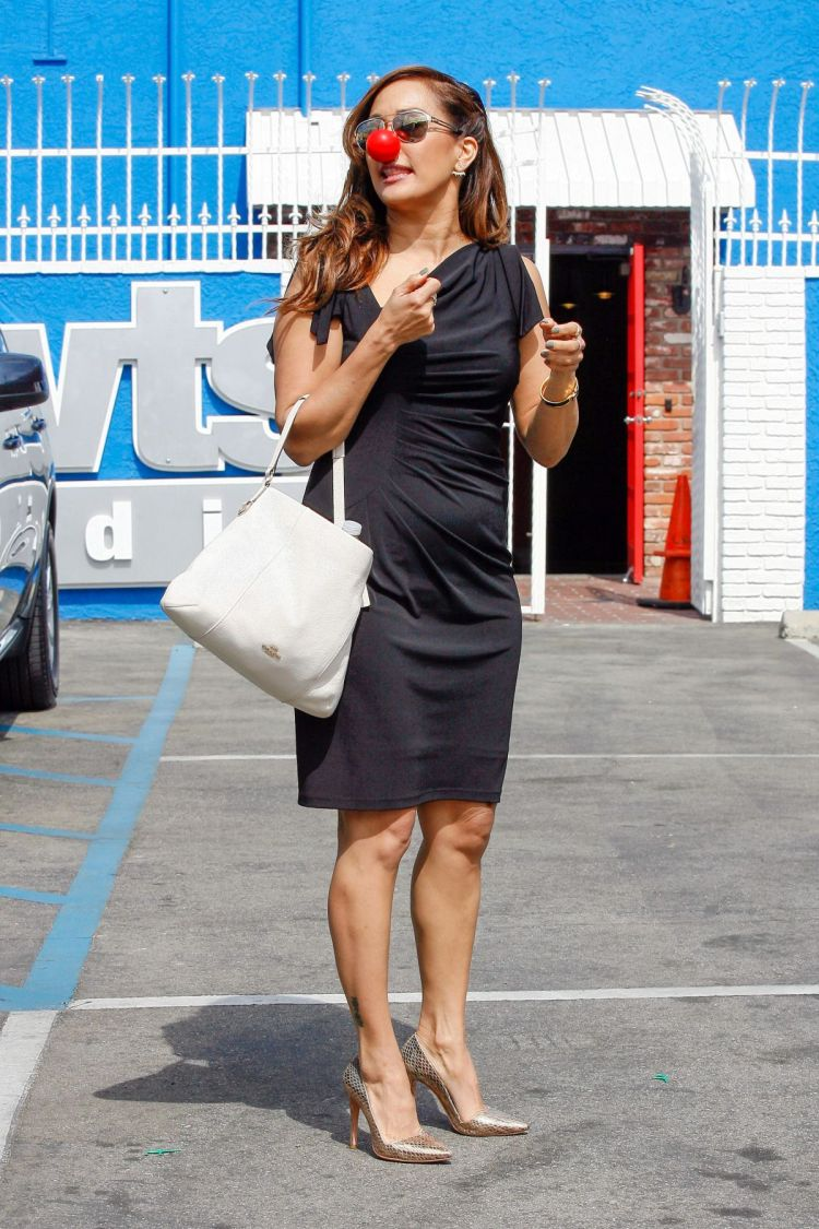 CARRIE ANN INABA at DWTS Studio in Hollywood 05/18/2016 ...