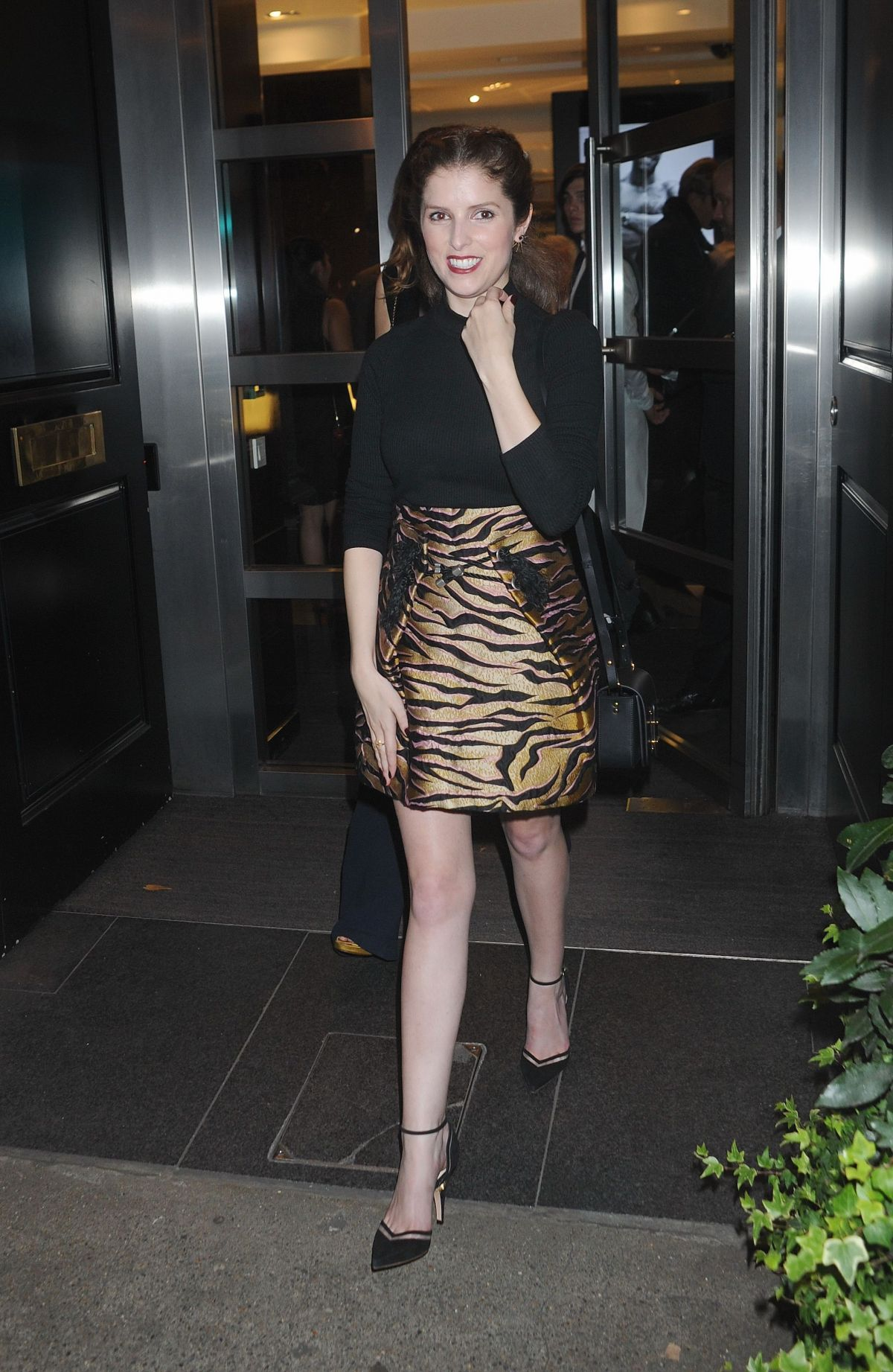 ANNA KENDRICK At Tiffany Amp Co And GQ Style Celebrate AW