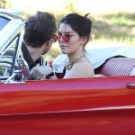 Kendall Jenner Driving Her Mustang Out In Los Angeles 11 10 2016 Hawtcelebs