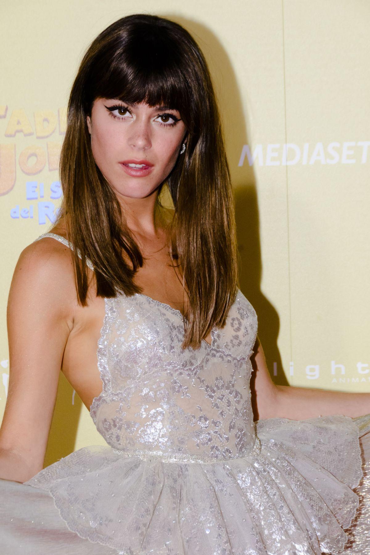 MARTINA STOESSEL At Tadeo Jones 2 Premier In Madrid 0822