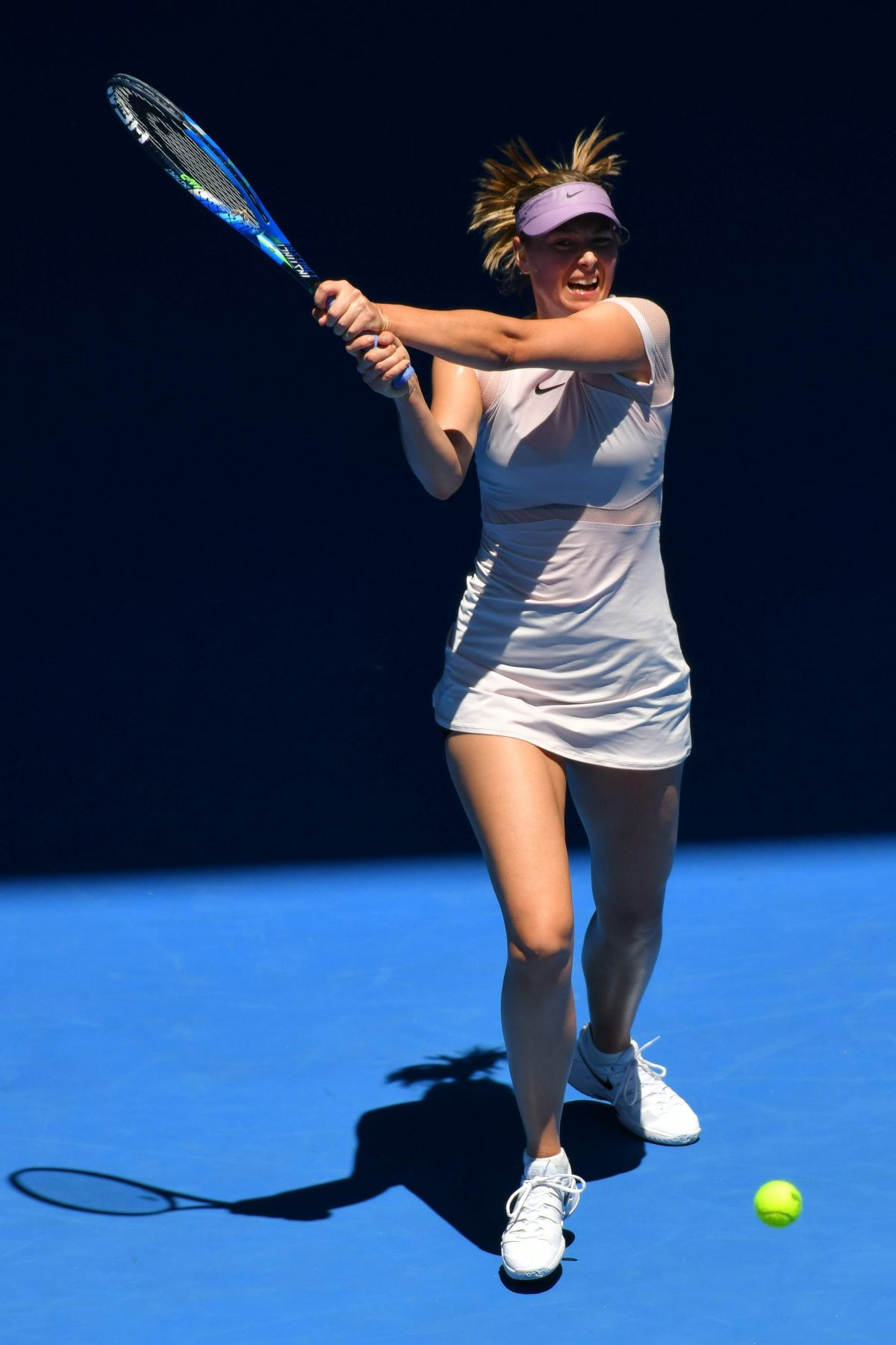 Image result for maria sharapova australian open 2018