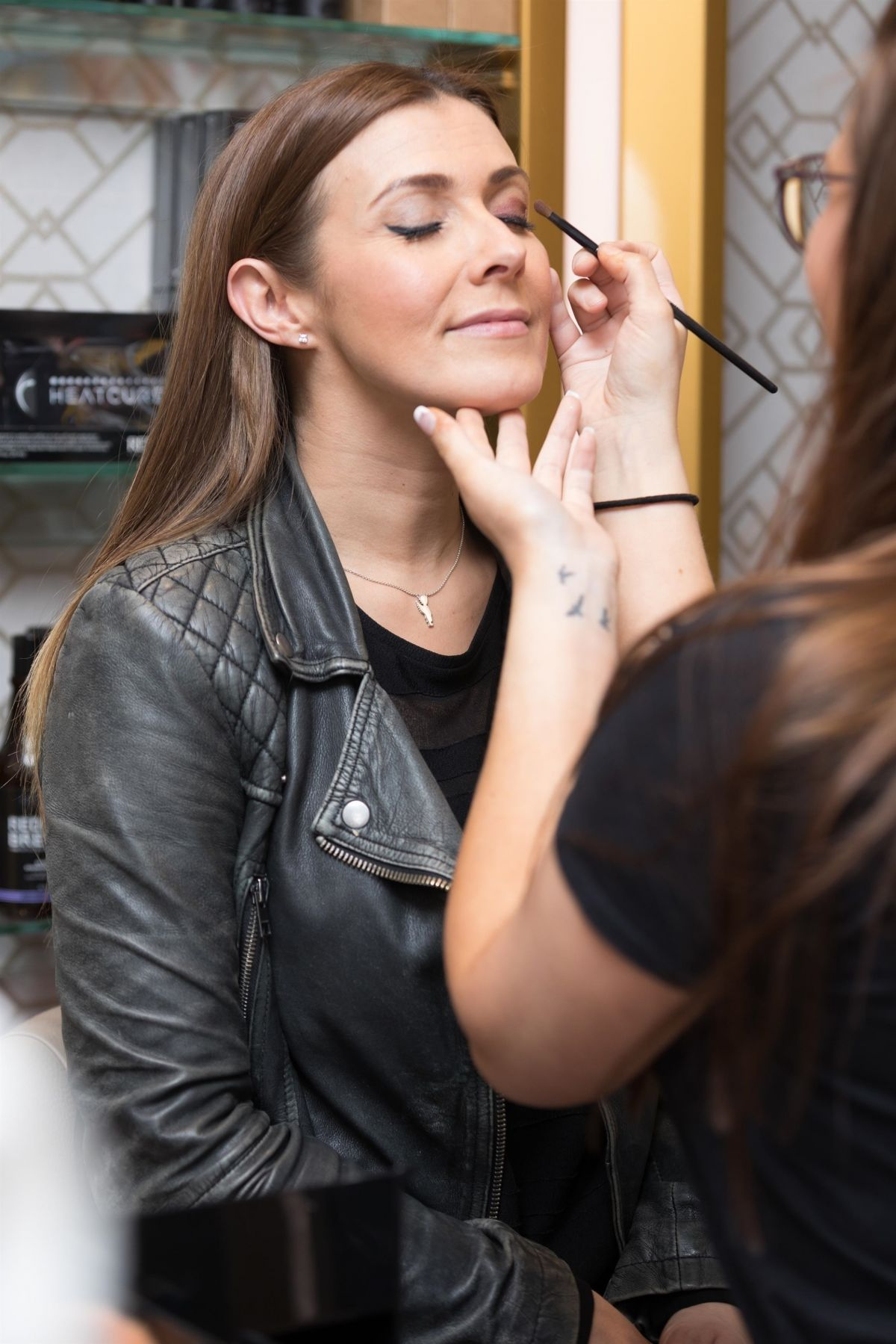 Kym Marsh At Evelyn House Of Hair And Beauty Vip Night