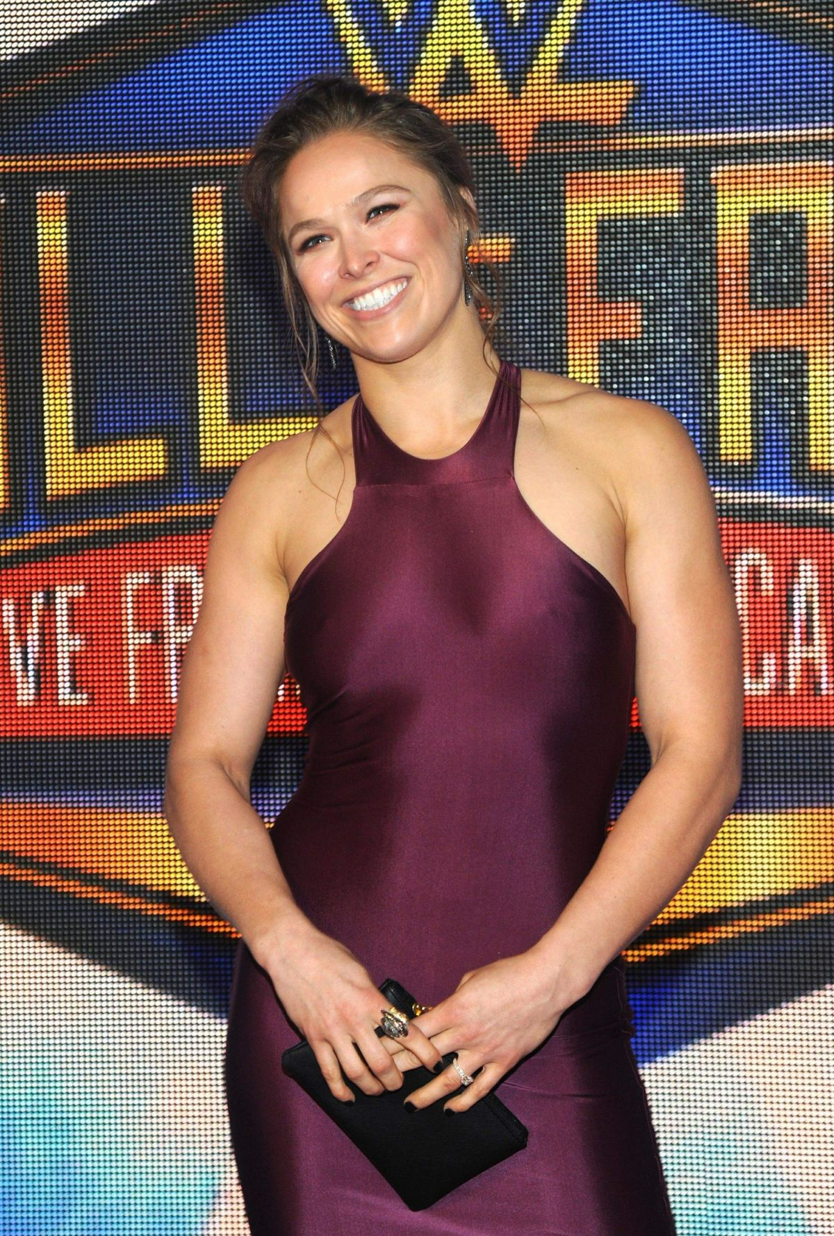 RONDA ROUSEY At WWE 2018 Hall Of Fame Induction Ceremony In New Orleans 04062018 HawtCelebs