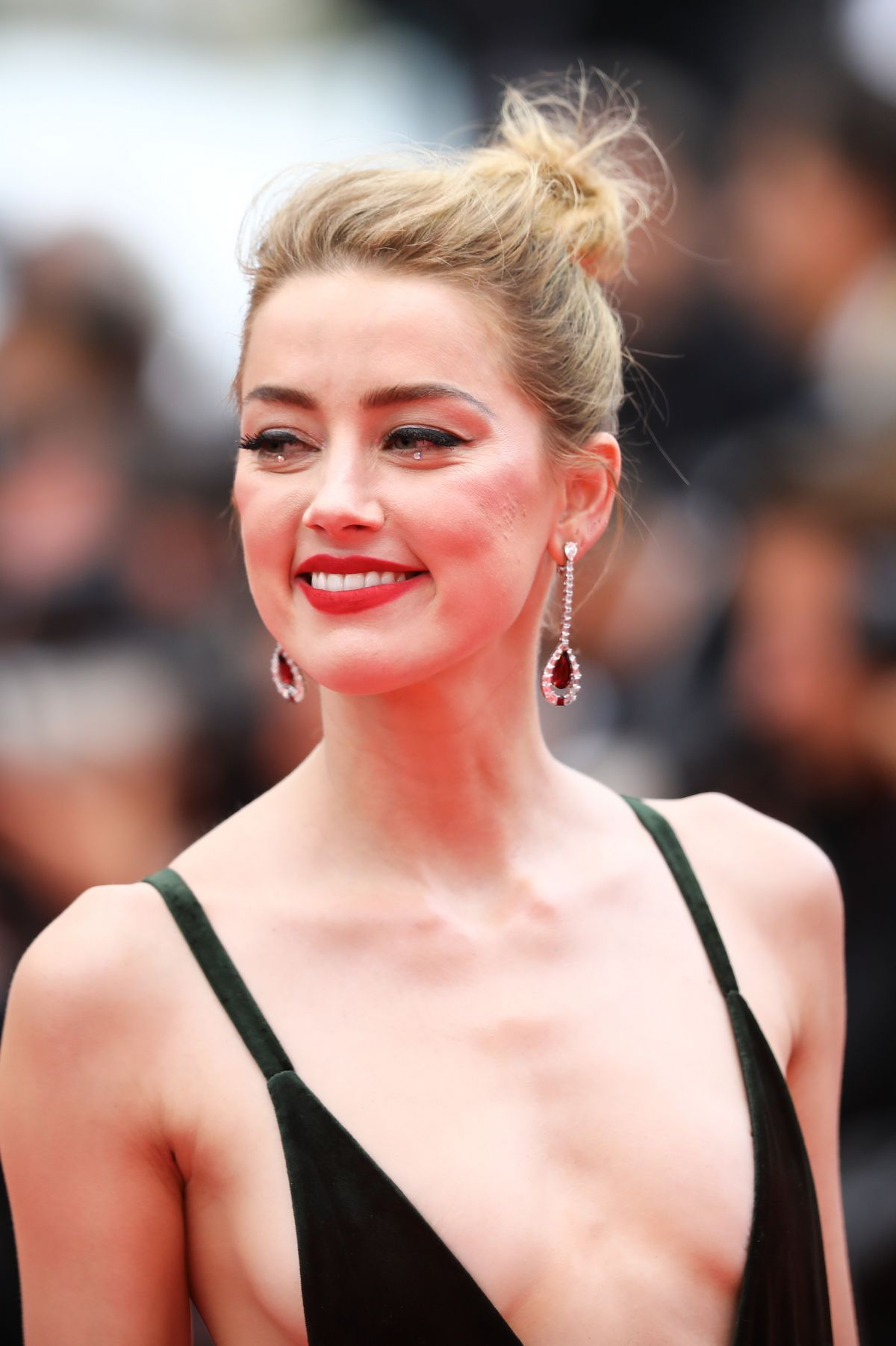 AMBER HEARD At Sorry Angel Premiere At Cannes Film