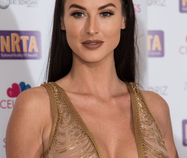 Alice Goodwin At  National Reality Tv Awards In London