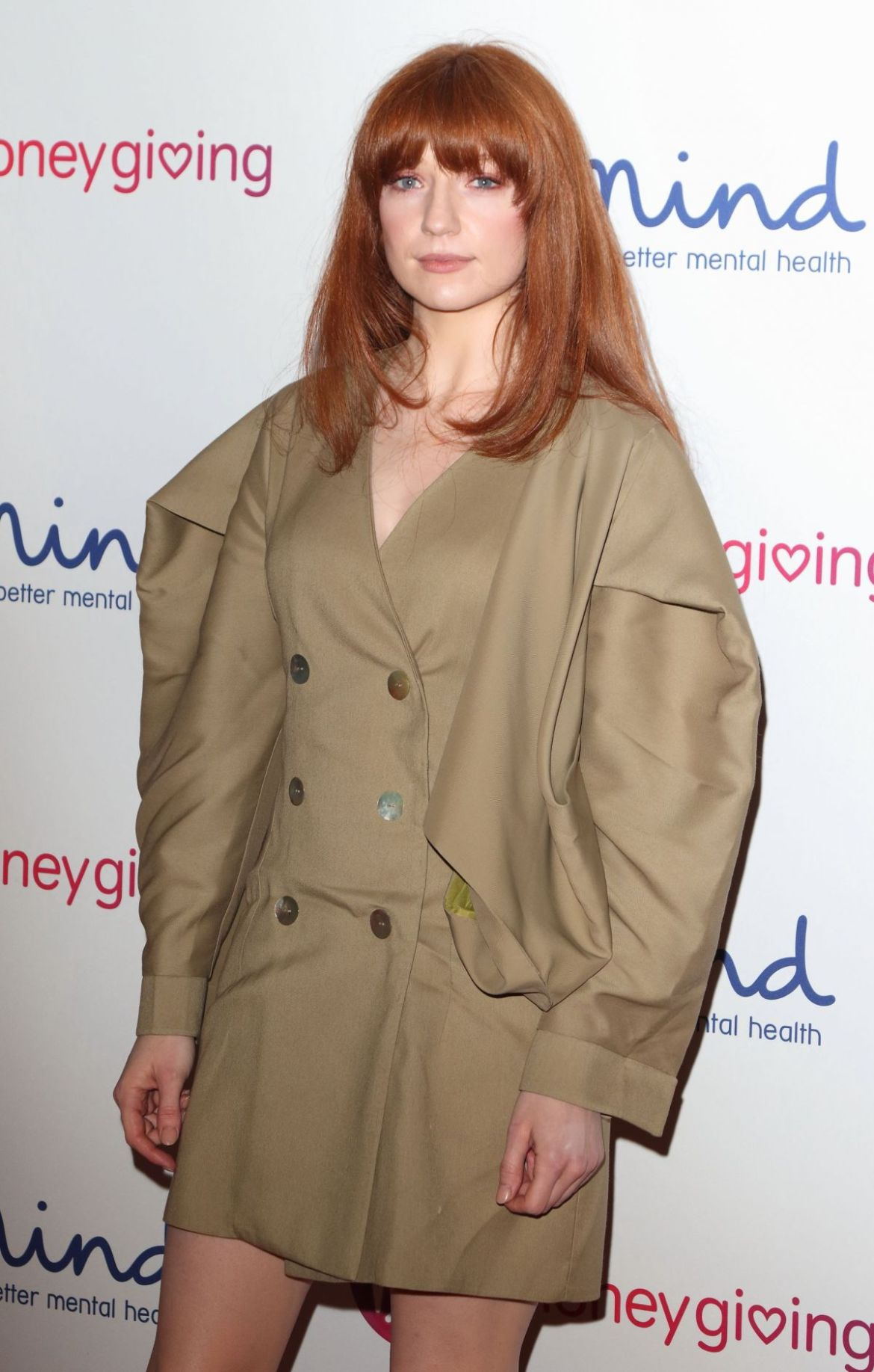 NICOLA ROBERTS at Virgin Money Giving Mind Media Awards in London 11/29/2018
