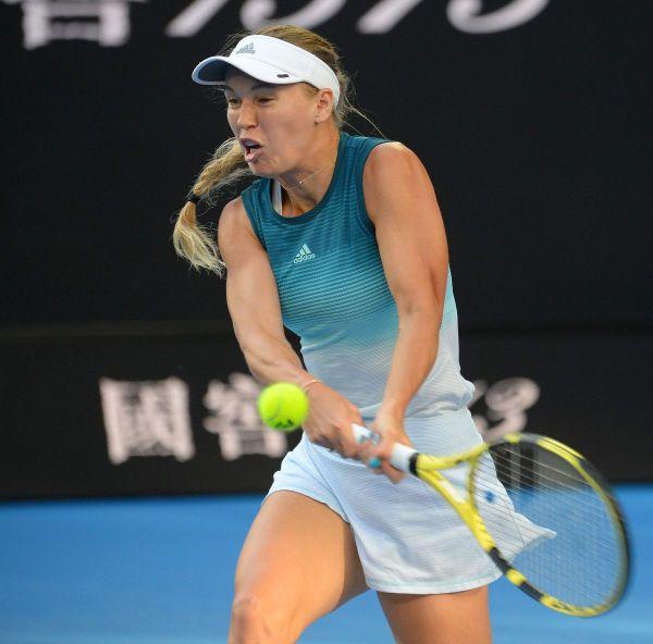 CAROLINE WOZNIACKI at 2019 Australian Open at Melbourne