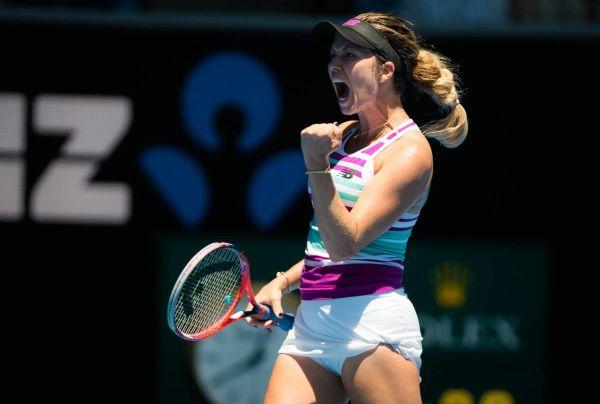 HEATHER WATSON at 2019 Australian Open at Melbourne Park