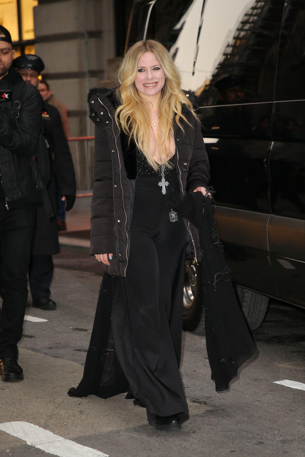 Demi Lovato And Avril Lavigne