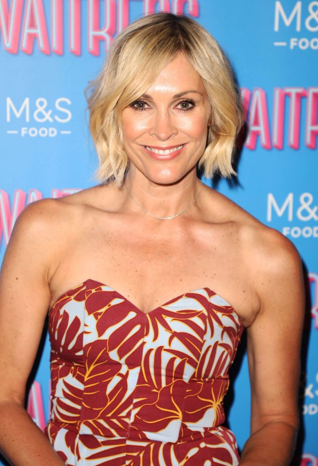 jenni falconer at waitress the musical cast change in london