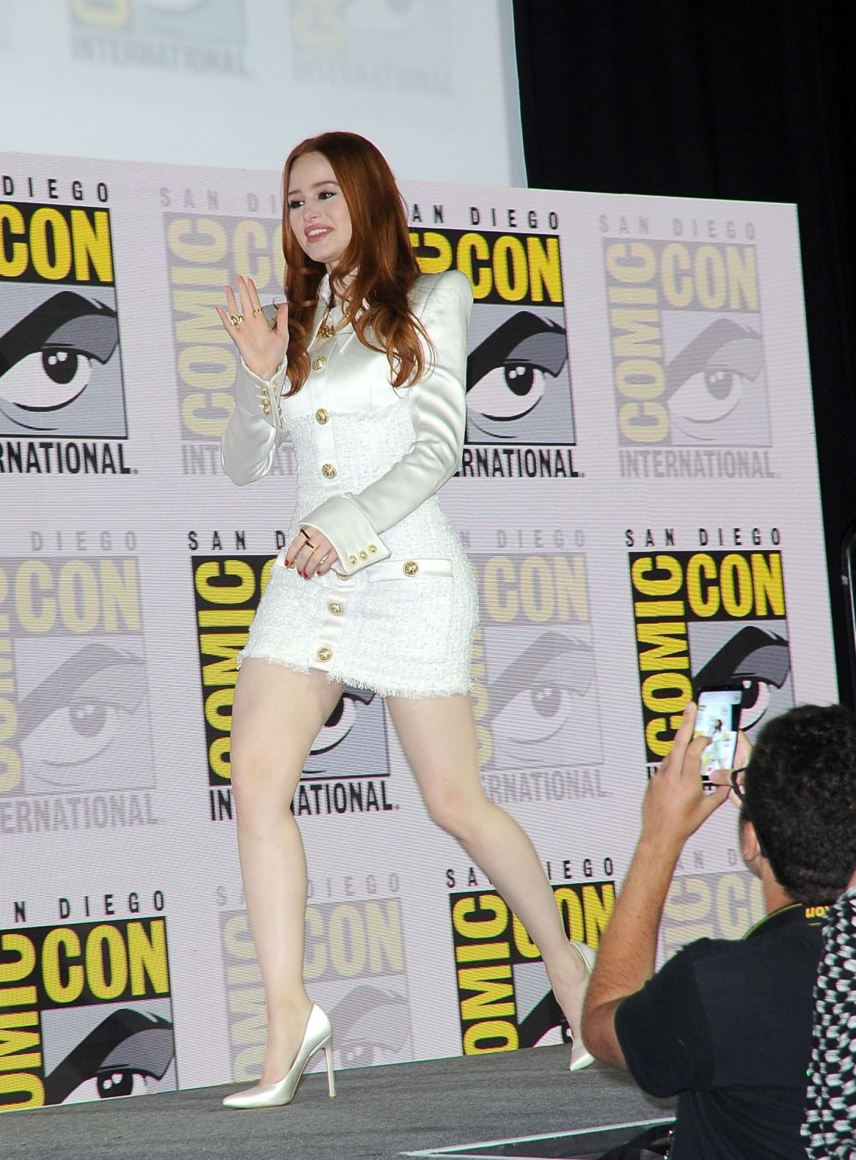 MADELAINE PETSCH At Riverdale Panel At Comic Con In San Diego 07212019 HawtCelebs