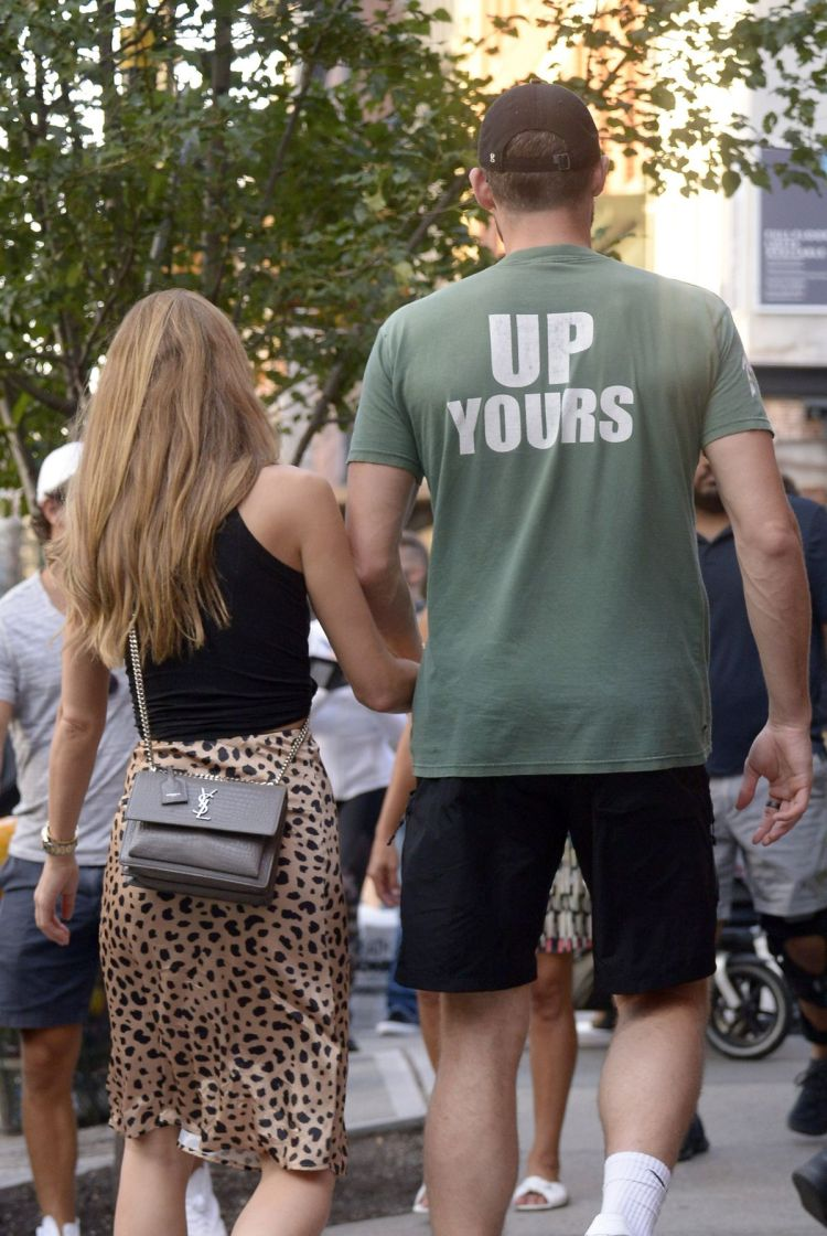 KATE BOCK and Kevin Love Out in New York 09/22/2019 ...