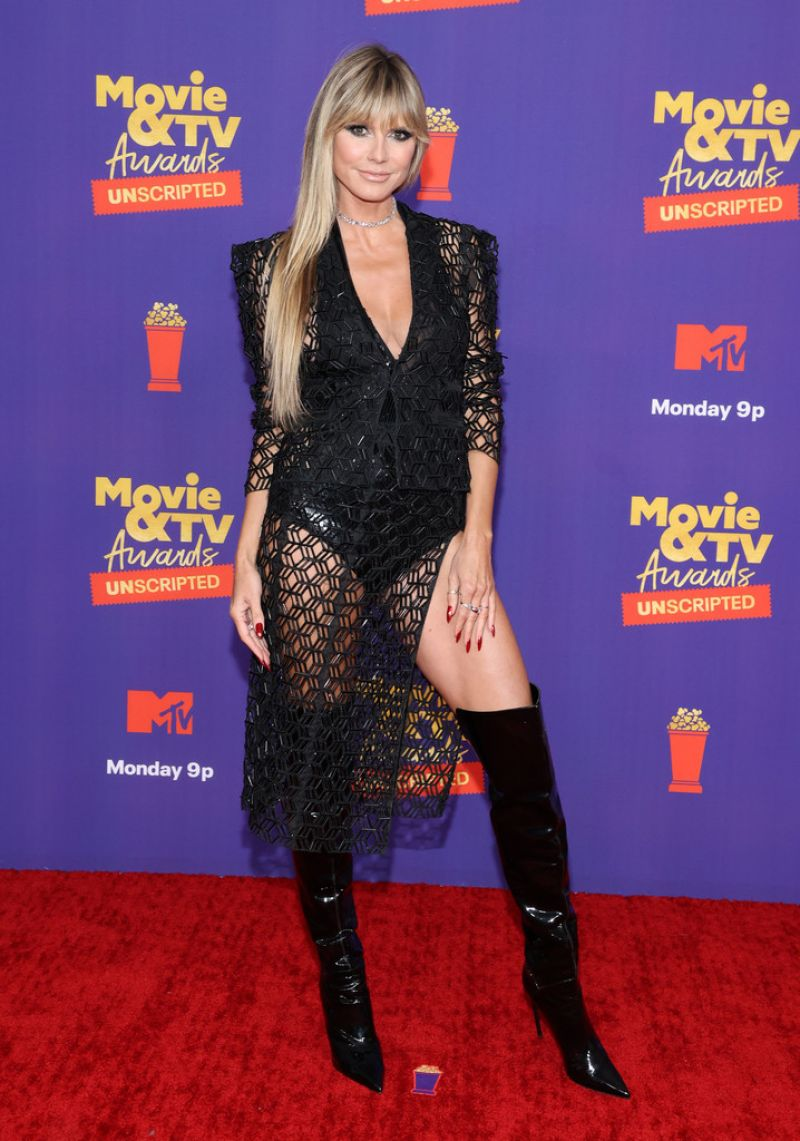 The two are set to attend the dolce & gabbana event at the 2021 venice film festival. HEIDI KLUM at 2021 MTV Movie Awards in Los Angeles 05/16/2021 - HawtCelebs