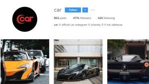 Car Instagram