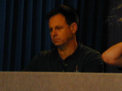 אילן רמון במסיבת העיתונאים