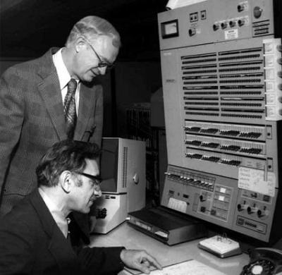 מחשב יבמ בעת מבצע אפולו