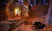 משה והסנה הבוער. מתוך הסרט 'עשרת הדברות', 1956. לפי ויקיפדיה מדובר בתמונה חופשית
