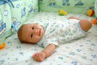 תינוק מחייך. מתוך ויקיפדיה