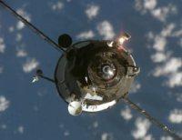 החללית פרורגס 24 מתקרבת לתחנת החלל, ינואר 2007