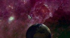"""טלסקופ החלל WISE. איור: נאס""""א"""