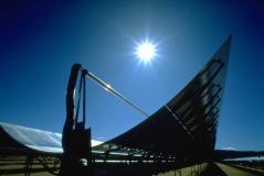 אנרגיית השמש - מקור אנרגיה ירוק ובלתי נדלה. מתוך ויקיפדיה
