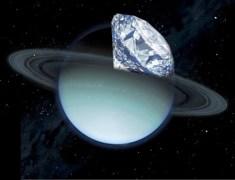 האם ליבת כוכבי הלכת הענקיים מכילה יהלומים?