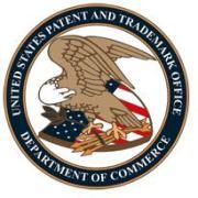 """לוגו משרד רשם הפטנטים וסימני המסחר של ארה""""ב. איור: ממשלת ארה""""ב"""