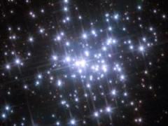 צביר הכוכבים ngc 3603 כפי שצילם טלסקופ החלל האבל, 2010